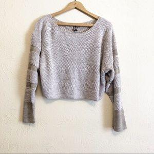 212 NY Knit Cropped Sweater